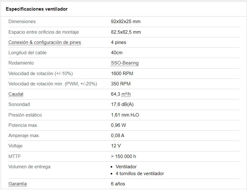 Review Noctua NF-R8 Redux 1200 y Noctua NF-B9 Redux-1600 PWM 3