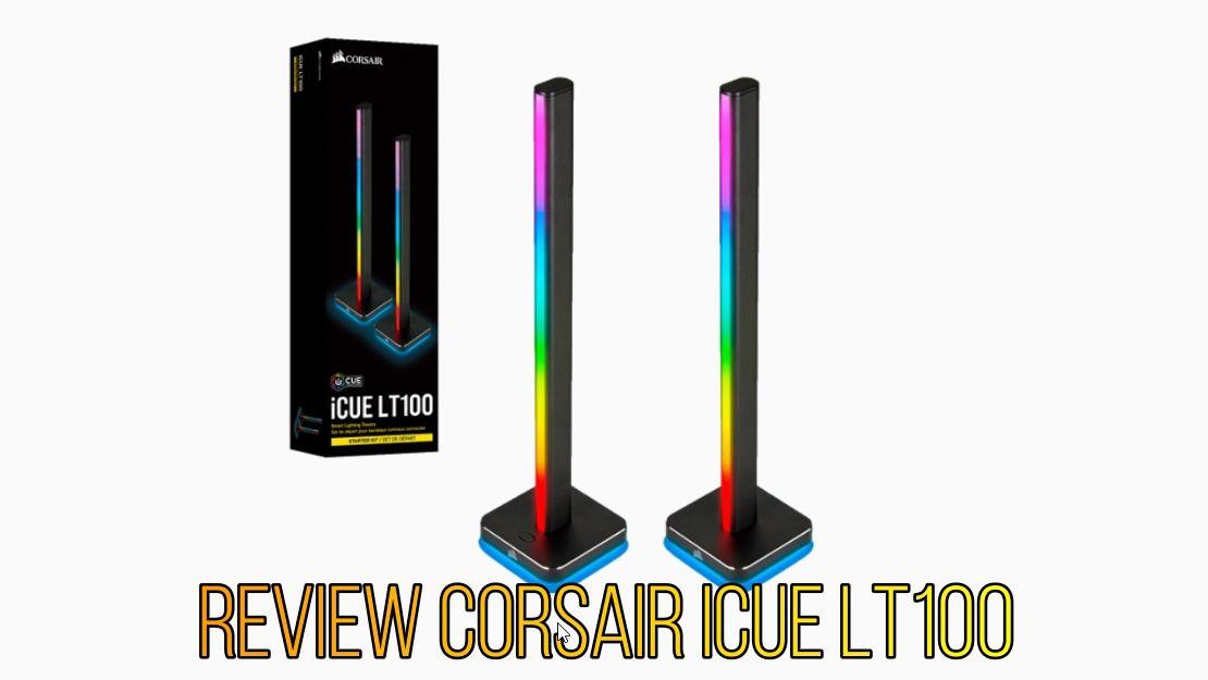 Review Corsair iCue LT100 2