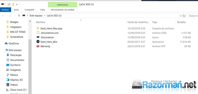 Review LaCie Portable SSD 500GB 8