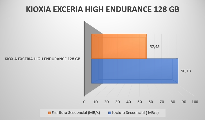 Review Kioxia Exceria High Endurance 128 GB 8
