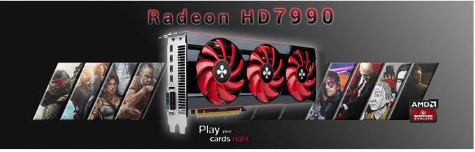 CLUB3D Radeon 7990