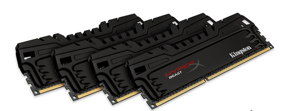 Kingston Hyper X Beast PCB Negro Black