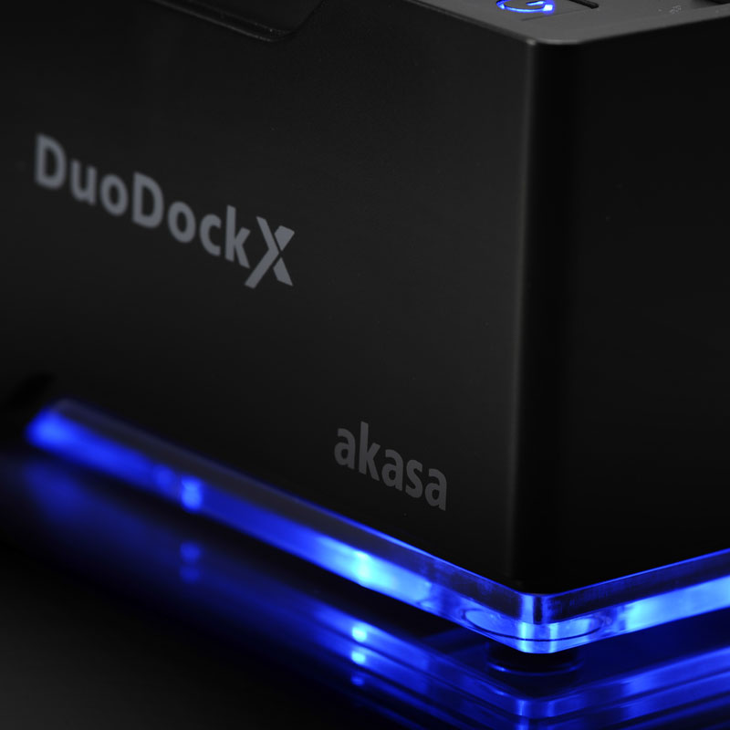 Akasa DuoDock X WiFi - schwarz (3)