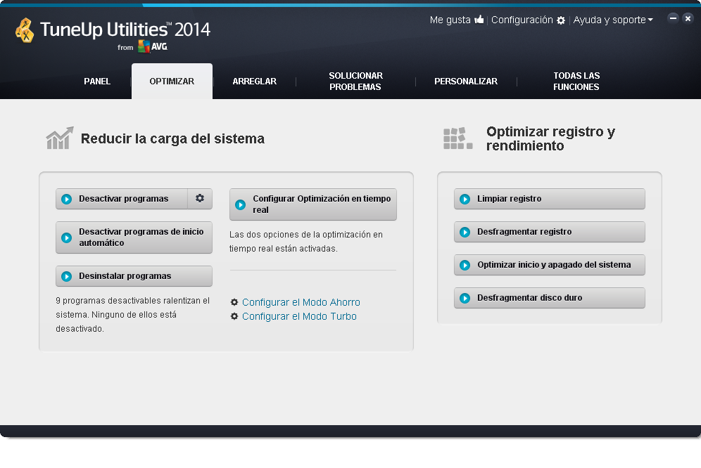 TuneUp_Utilities_2014_Optimizar