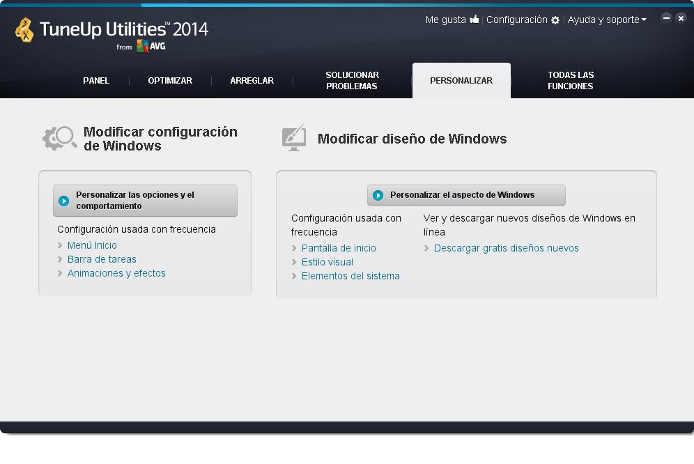 TuneUp_Utilities_2014_Personalizar