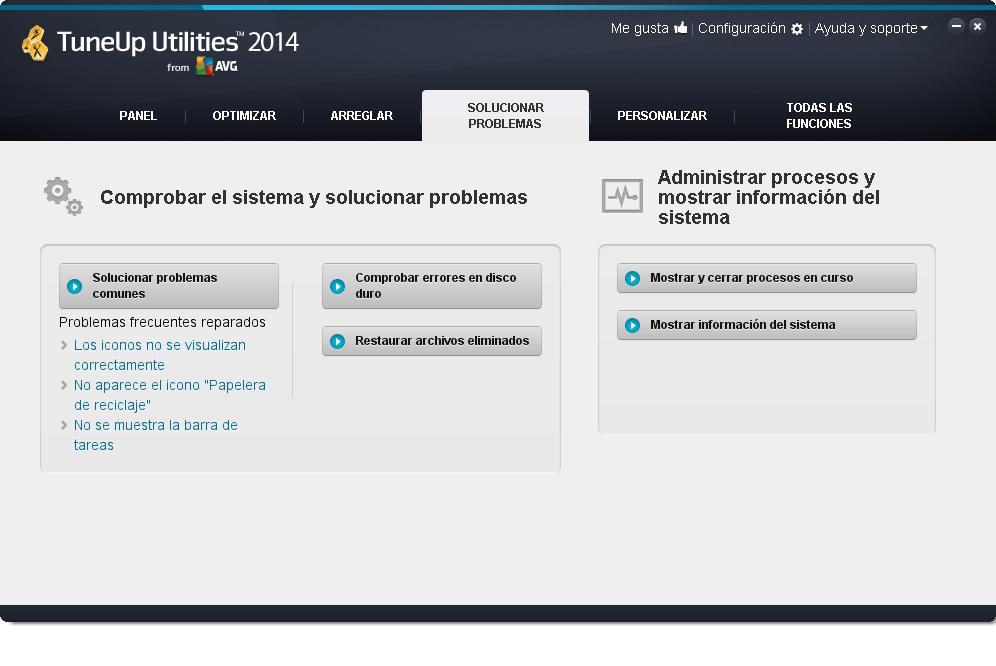 TuneUp_Utilities_2014_Solucionar_Problemas
