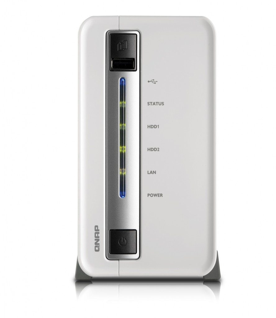 Turbo NAS TS-212P de QNAP frontal