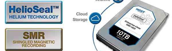 Western Digital anuncia sus nuevos discos duros de 8 y 10 Tb
