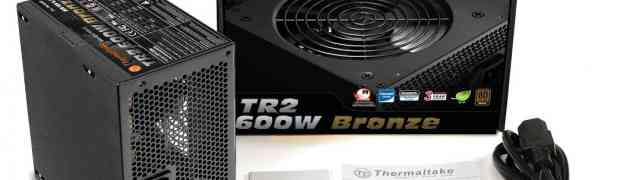 Thermaltake lanza sus nuevas fuentes TR2 Bronce de 450W, 500W, y 600W