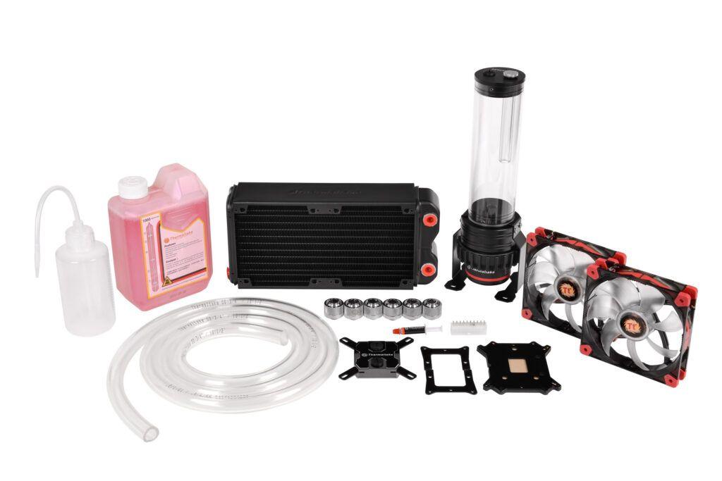 Thermaltake Unveils Pacific RL240 Water Cooling Kit