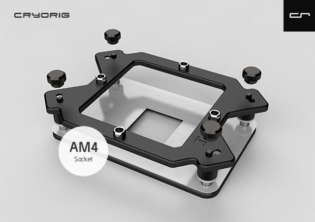 Cryorig proporciona gratis kit para actualización al socket AM4