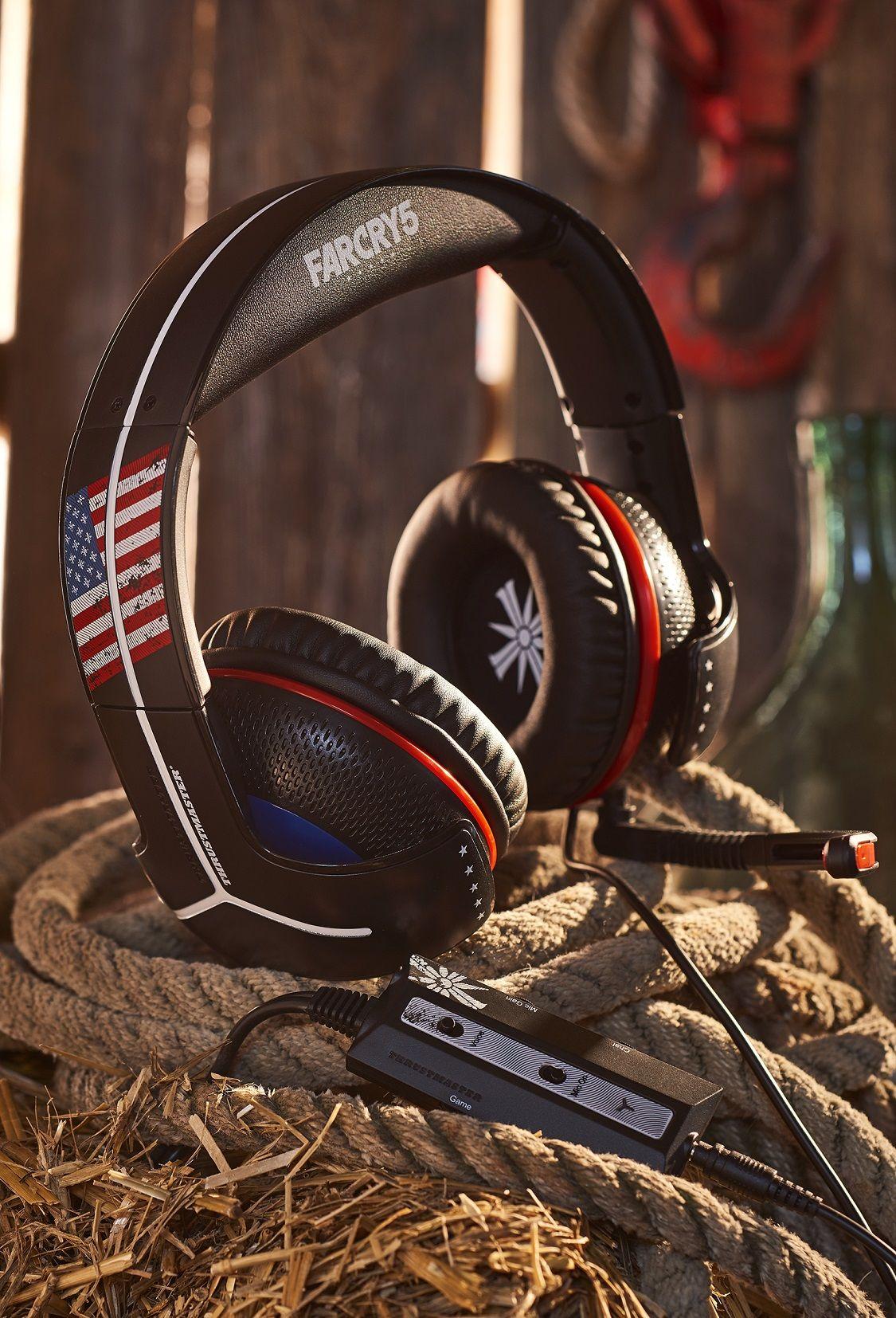Nuevos auriculares gaming TrustMaster Y-350CPX  e  Y-300CPX