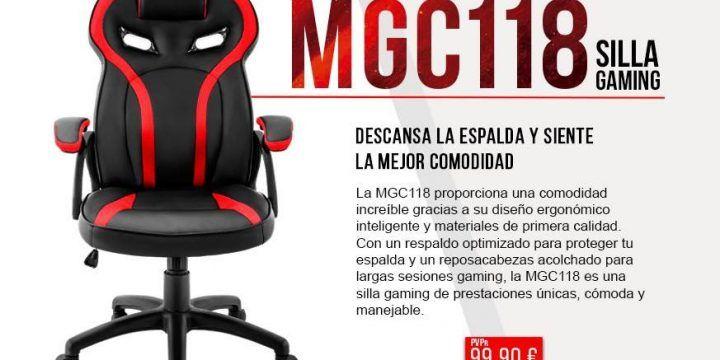 Nueva silla MGC118 de Mars Gaming