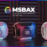 ALTAVOZ BLUETOOTH RGB MSBAX